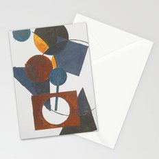 Constructivistic painting Stationery Cards