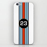 racing iPhone & iPod Skins featuring RACING COLOURS by MATT WARING