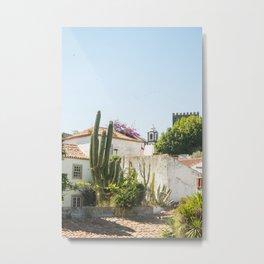 Cactus Garden, Óbidos Metal Print