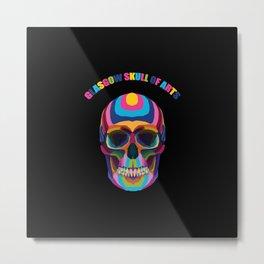 Glasgow School of arts | Glasgow Skull of arts Metal Print