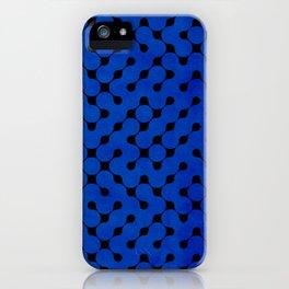 Orange Grunge Texture iPhone Case