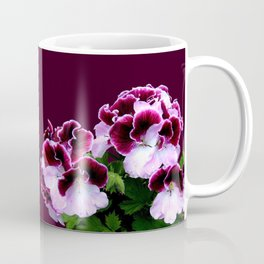 Pink Purple Flower Power Coffee Mug