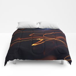 bokeh light Comforters
