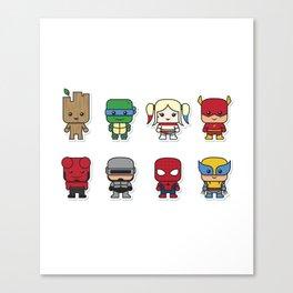 Baby Superheroes Canvas Print