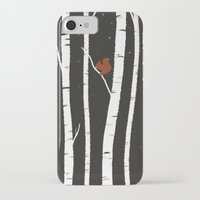 birch iPhone & iPod Cases featuring Birch by LauraTolton
