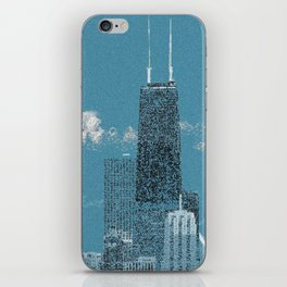 Chicago Lakefront - Blue iPhone Skin