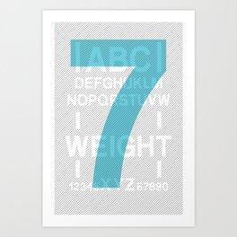 Apt 7 Art Print