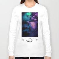 jellyfish Long Sleeve T-shirts featuring Jellyfish by riz lau
