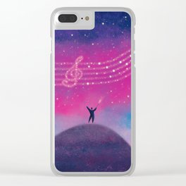 Maestro of Stars Clear iPhone Case