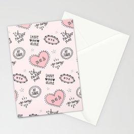 anti-valentines Stationery Cards