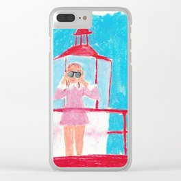 Suzy Clear iPhone Case