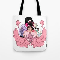 steven universe Tote Bags featuring Steven Universe by Madoca