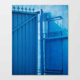 blue palette Canvas Print