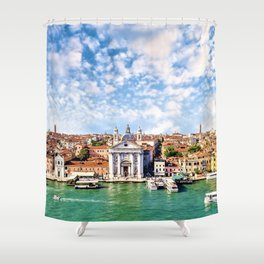 Venice, Italy Grand Canal Shower Curtain