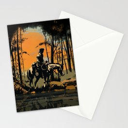 In the Evening (version 2) Stationery Cards