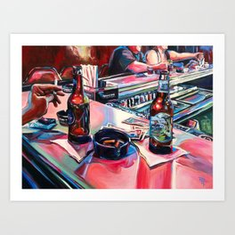 """Err In Ways, Stumble In Judgement"" Art Print"