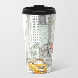 New York City Taxi Travel Mug
