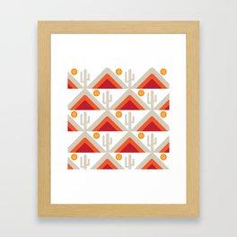 DESERT HILLS 1 Framed Art Print