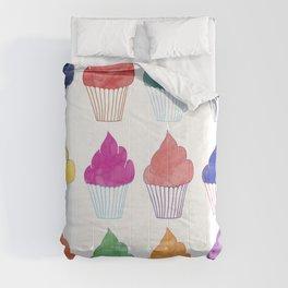 Cupcake Pattern Comforters