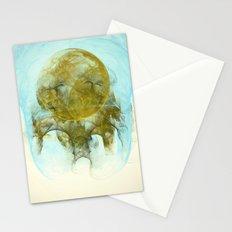 Sleepy Moon Nebula Stationery Cards