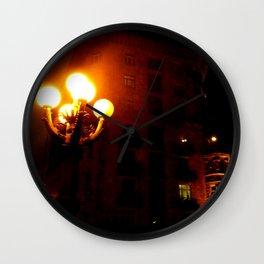 Night Crest 3 Wall Clock