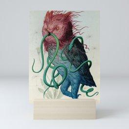Scarlett Clock Wine Mini Art Print
