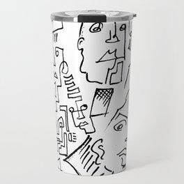 ten faced Travel Mug
