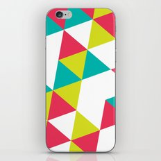 TROPICAL TRIANGLES - Vol 2 iPhone & iPod Skin