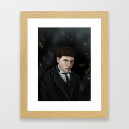 C.B. Framed Art Print