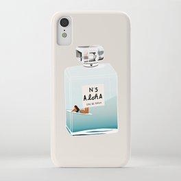 No.5 Aloha, hawaii art, aloha art, summer art, perfume art iPhone Case