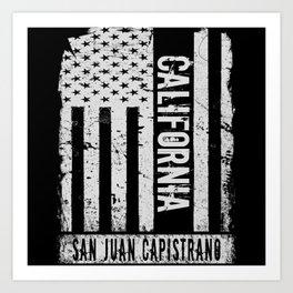 San Juan Capistrano California Art Print