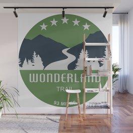 Wonderland Trail Wall Mural