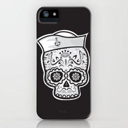 Marinero muerto sugar skull iPhone Case