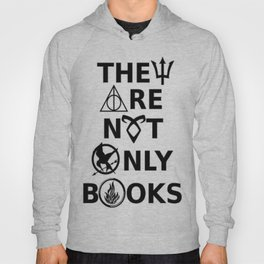 They Are Not Only Books Hoody