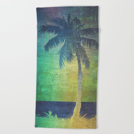 Summer vibes Beach Towel