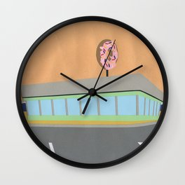 Donut Diner Wall Clock