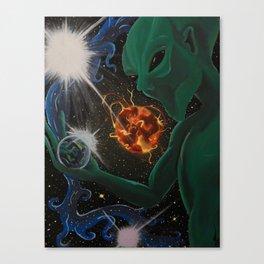 Into the Universe Canvas Print