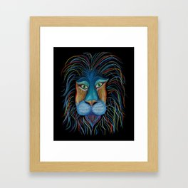 Colorful King Framed Art Print