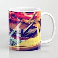 crane Mugs featuring Crane  by Francessca.n.Angel