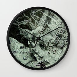 Ragnarok: Jormangundr the snake Wall Clock