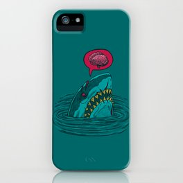 The Zombie Shark iPhone Case