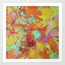 Orange is the New Orange Art Print