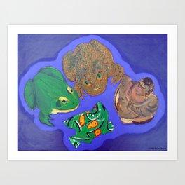 4 Objects Art Print