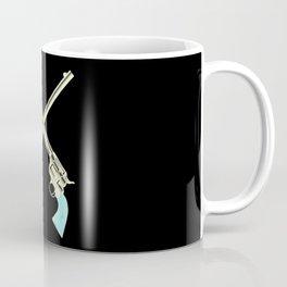 Crossed Guns Pair Coffee Mug