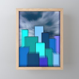 Urban Framed Mini Art Print