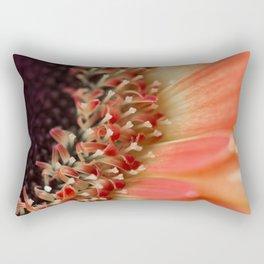 Gerber daisy orange  Rectangular Pillow
