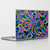 fireworks Laptop & iPad Skins featuring Fireworks by Sartoris ART