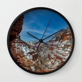 North Rim Trailshot Wall Clock
