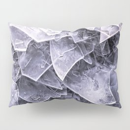Cracked Ice Tiles In Lake Shore #decor #buyart #society6 Pillow Sham