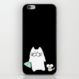 cat and mouse 223 iPhone Skin